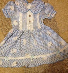 Платье на девочку на 3-5лет