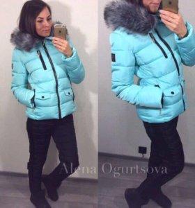 Отличный зимний женский костюм, тёплый, р.42-44-46