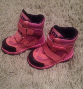 Зимние  ботинки minimen