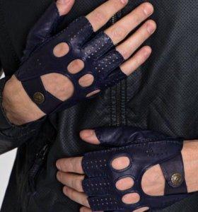 Перчатки митенки мужские новые