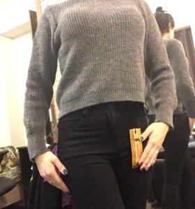 Новая кофта и новые джинсы