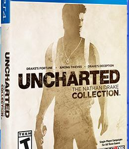 Игра Uncharted ps4