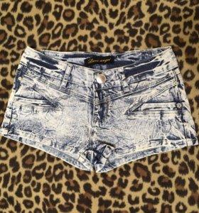 Шорты новые джинсовые женские