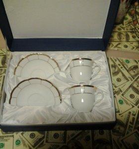 Чайный набор на две персоны (чехия)