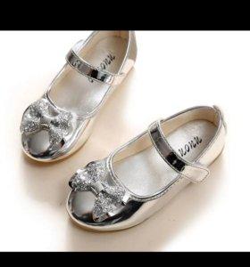 Новые туфли 28 рамер
