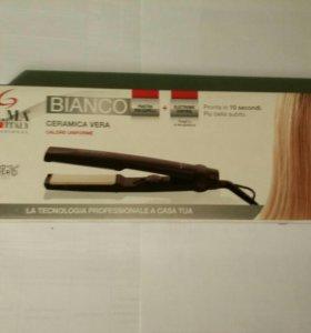(новый) Утюжок для волос ga ma bianco