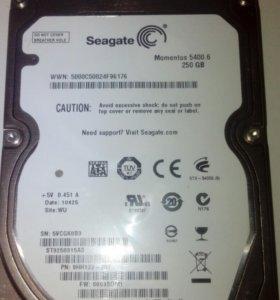 Жесткий диск 250 гб 2.5 ноутбук
