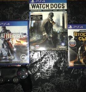 Диски с играми для PS4