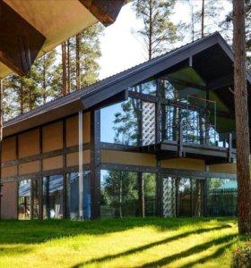Строительство усиленных каркасных домов
