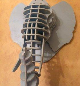Декоративная голова Слона