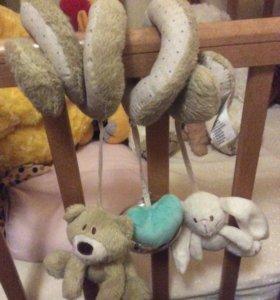 Погремушка на детскую кроватку или коляску