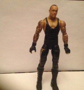 Гробовщик,(undertaker) фигурка из реслинга wwe