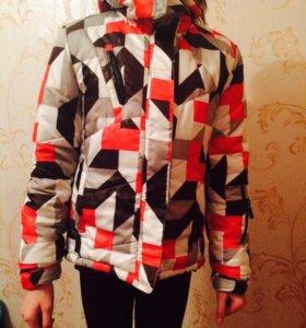 Куртка теплая горнолыжка