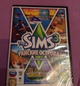 """Игра """"Sims 3 райские острова"""""""
