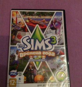 """Игра """"Sims 3 времена года"""""""
