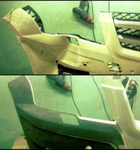 Ремонт пластиковый деталей-бампера,зеркала и т.д