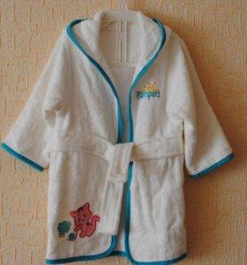 Новый Детский халат Pampers