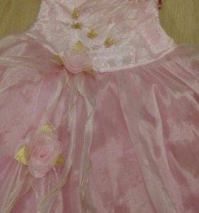Платье  с 5 - 9 лет.