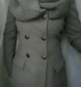Пальто торг calliope серое размер 42-44