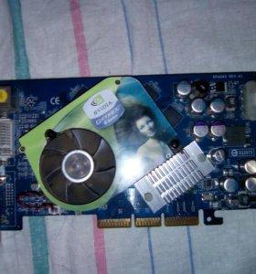 Видеокарта Nvidia GeFORCE 6600GT AGP