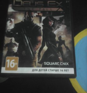 Игра Deus  EX the fall