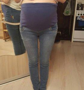 Джинсы для беременных б/у