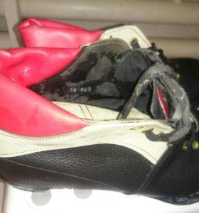 Ботинки 43 р лыжные