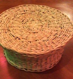 корзины плетеные,ручная работа
