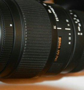 Объектив Sigma 70-300 Nikon