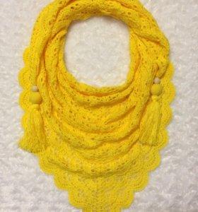 Бактус шаль шарф платок снуд