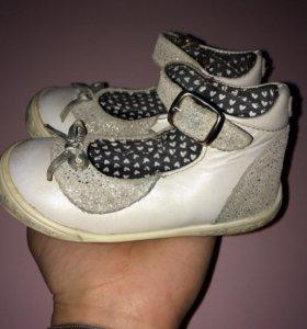 Туфельки 22 размера