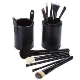 Набор кистей для макияжа MAC в тубусе 12 штук