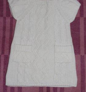 Новое платье вязаное теплое Mothercare.