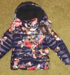 Новая куртка на девочку на весну.