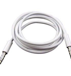 Aux кабель на IPhone 4s,5, 5s,5c, 6,6s