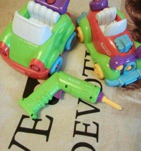 Детские машины конструктор для логики