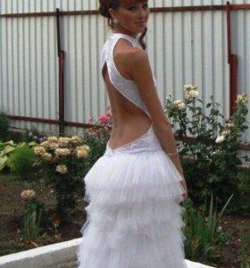 Выпускное ( свадебное платье )