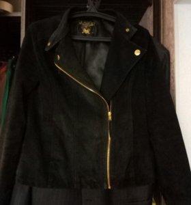 Куртка-косуха из замши