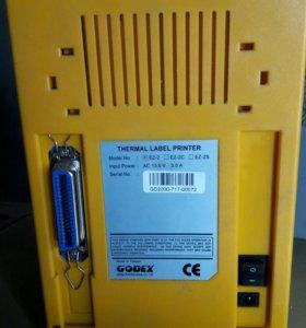 Настольный Принтер этикеток Godex BZB 2  рабочий
