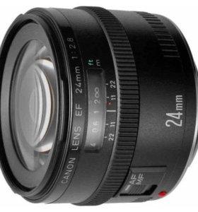 Объектив Canon EF24 f/2,8