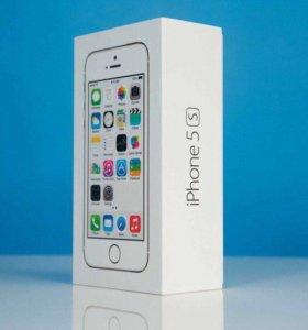 Коробка iPhone 5S silver