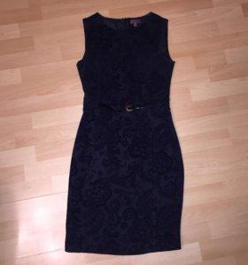 Чёрное платье Cortefiel