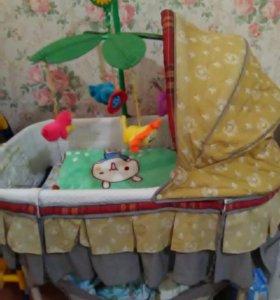 Детская люлька кровать