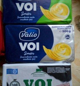 Масло  VALIO  (сливочное, соленое) из Финляндии