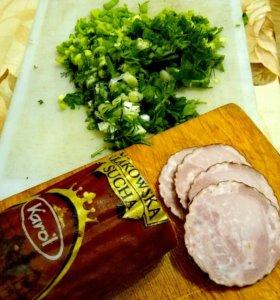 Колбаса ветчинная из Финляндии