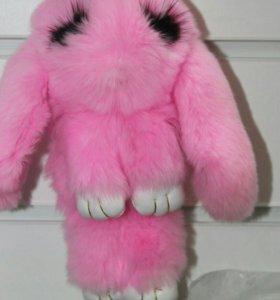 Кролик с ресничками
