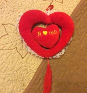 Игрушки-сердечки  на 14 февраля