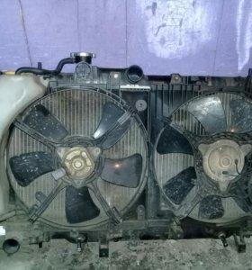 Радиатор кантрактный и стартер от субару импреза
