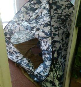 Палатка зимняя 2.5х2.5х1.8 новая