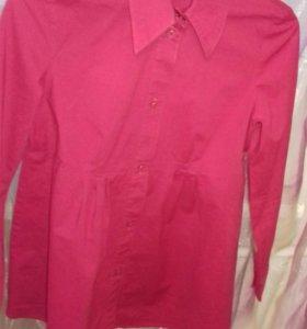 Блузка-рубашка для беременных б/у. Как новая.